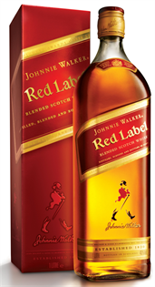 Johnnie Walker Scotch Red Label 1.00l